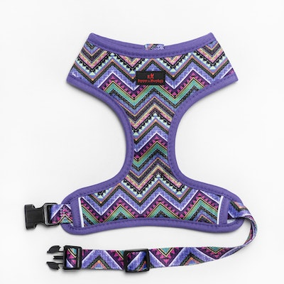 Pepper & Murphy's Aztec Feathers Reversible Dog Harness