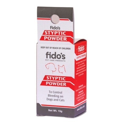 Fidos Styptic Powder Dogs & Cats Bleeding Control - 2 Sizes