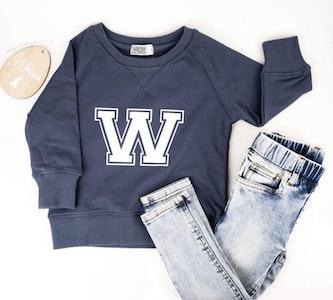 Personalised Varsity Sweater - Storm Navy