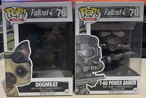 Fallout 4 - Flocked Dogmeat + T-60 Power Armor