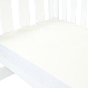 Babyhood Amani Bebe Fitted Sheet Classic White