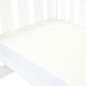 Babyhood Amani Bebe Fitted Sheet Classic White