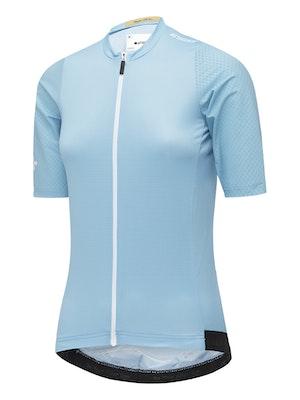 Attaquer Womens Race ULTRA+ Aero Jersey Steel Blue