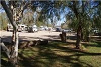 Quorn Caravan Park - Shady Sites