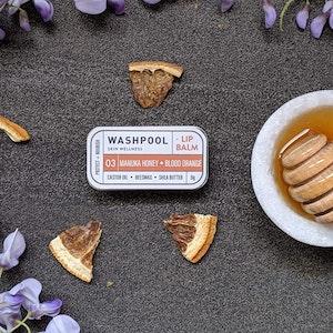Manuka Honey · Blood Orange Lip Balm Tin [LX3]
