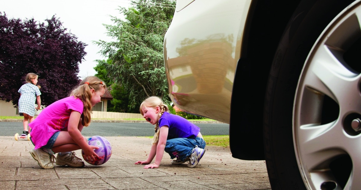 Keeping kids safe around vehicles