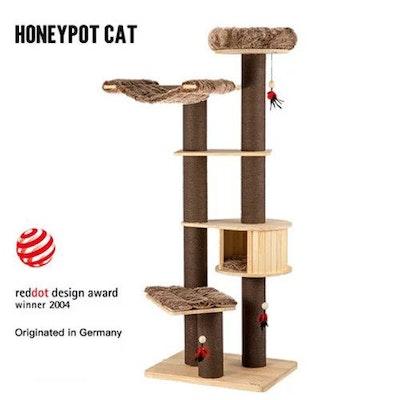 Honeypot CAT® Solid Wood Cat Tree 198cm