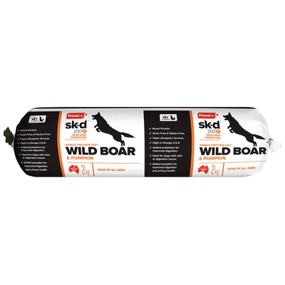 Prime100 Sk-D200F Wild Boar & Pumpkin 2kg