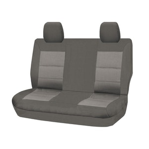 Premium Car Seat Covers For Toyota Landcruiser Vdj70 Series 2007-2020 Troopcarrier 4X4 Wagon   Grey