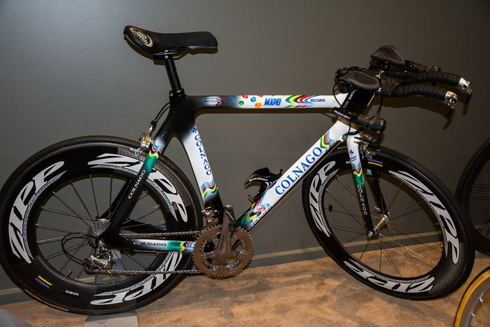 Fabio s Colnago Mapei Collection Carbonissimo