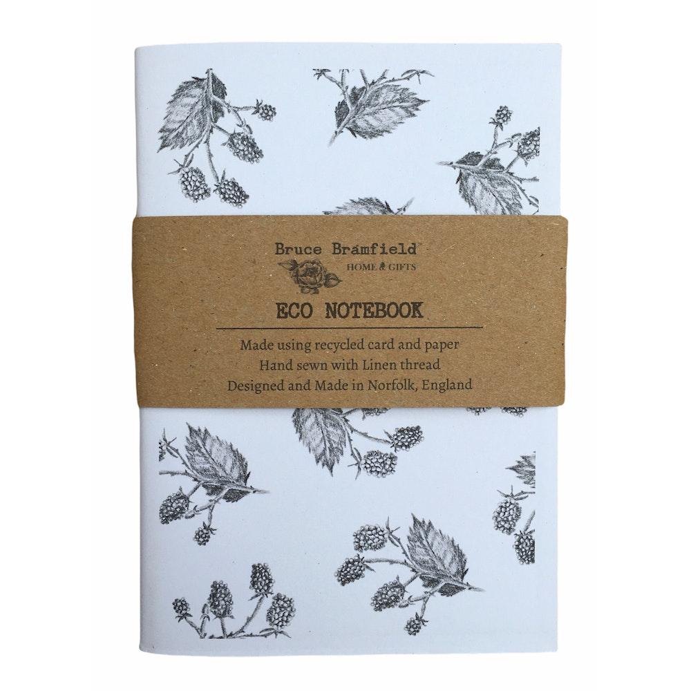 Bruce Bramfield Blackberries Eco Notebook