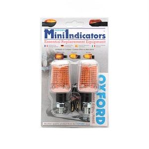 Oxford Rectangle Short Stem Bulb Indicators - Black