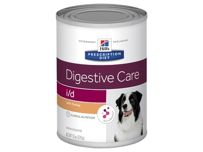 Hill's Prescription Diet i/d Digestive Care Canned Turkey Dog Food 12 x 370g