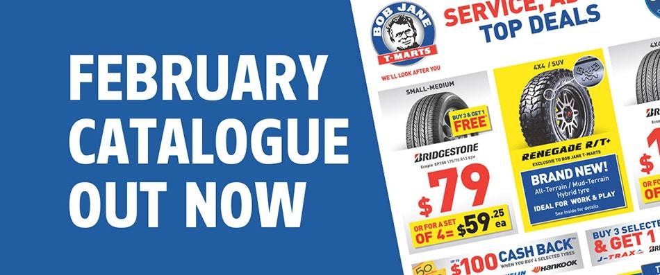 Bob Jane T-Marts February Catalogue