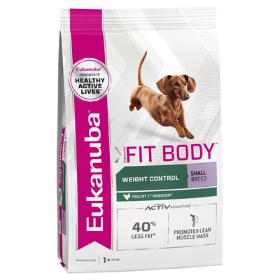 Eukanuba Fit Body Small Breed Adult Chicken Dry Dog Food
