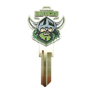 Creative Keys NRL Team Logo Key Blank TE2 - Canberra Raiders
