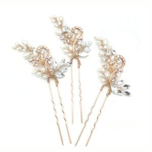 Crystal Bridal Hair Pin Sets