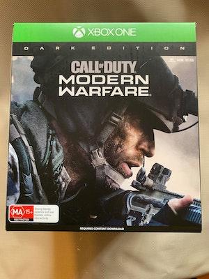 Xbox One Call of Duty Modern Warfare Dark Edition with Night Vision Goggles + Steelbook