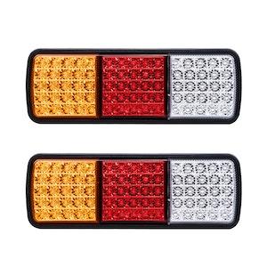LIGHTFOX LIGHTFOX Pair LED Vehicle Tail Lights 12V
