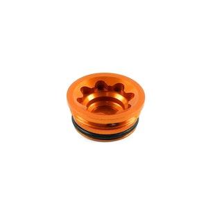 Hope E4 Small Bore Cap Orange