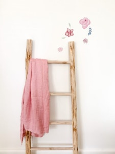 Grubbee Dusty Pink Bamboo Wrap