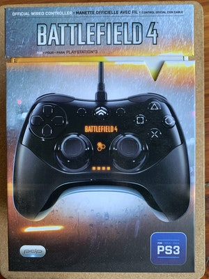 Boxed Battlefield 4 Official PlayStation 3 PS3 Pdp Collector Wired Controller