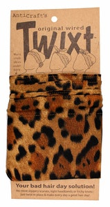 Leopard Animal Print Brown & Gold - Twixt / Wired Head Wrap