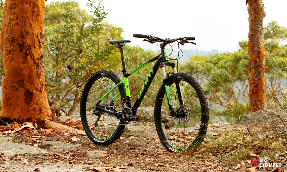 fullpage Giant Fathom 29er 2 2017 mountain bike review bikeexchange 2.2