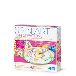 4M - Little Craft - Spin Art Fun Creation
