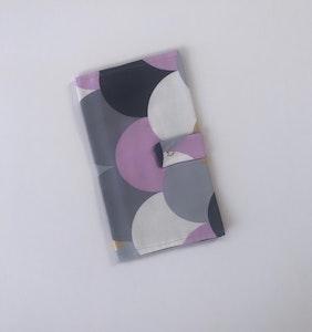 Purple Cloud Handmade Nappy Wallet