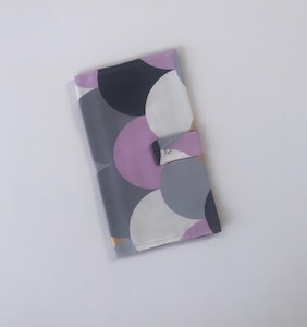 Purple Cloud Handmade Nappy Wallet