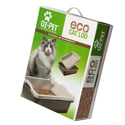 Oz-Pet Eco Loo Kit = Boxed 2 Piece Sieve Tray Set