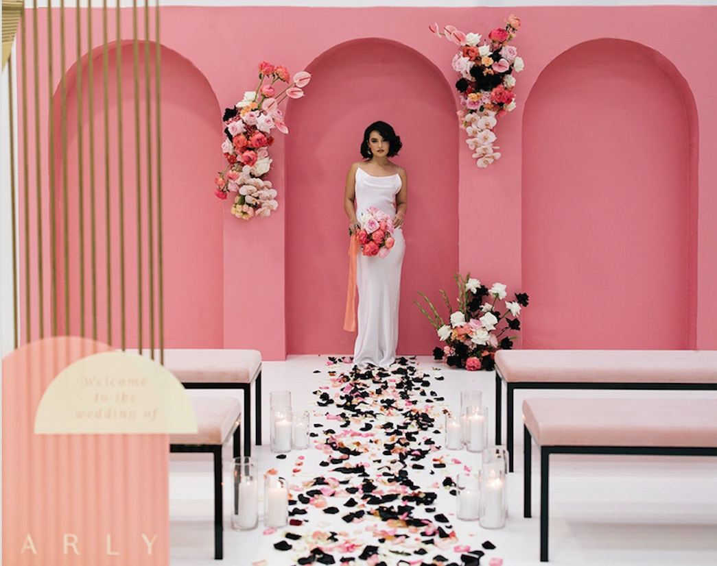 Perth wedding – unique wedding theme – coral crush inspiration | LENZO