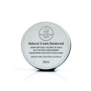 Blackwood Hemp Natural Hemp Deodorant Cream - 50ml