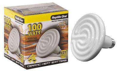 Reptile One Ceramic Heat Lamp 100w E27 Screw Fitting 46553