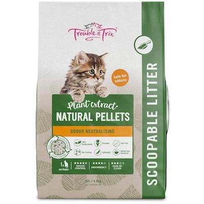 Trouble N Trix Trouble & Trix Natural Cat Litter 10L