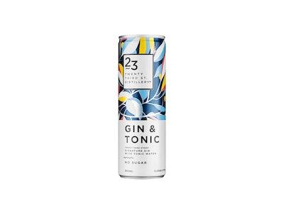 23rd Street Gin & Tonic Can 300mL