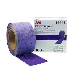 3M Clean Sanding Sheet Roll 180+, 70mm, 34446