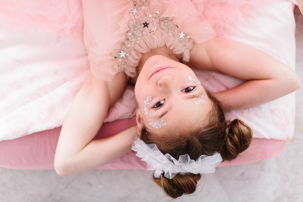 Kids Birthday Party Ideas Pink Princess Slumber Party