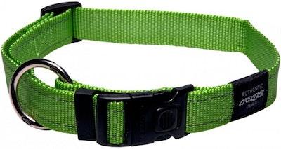 Rogz Utility Collar Lime
