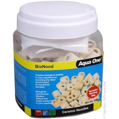 Aqua One BioNood Ceramic Noodles Aquarium Filter Media