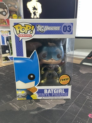 OG Batgirl Chase DC universe. Very rare see pics