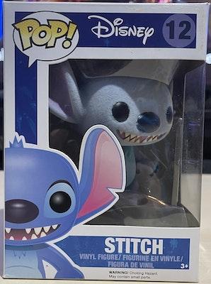 Lilo and Stitch- Flocked Stitch (2015)