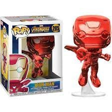Funko Pop! Vinyl Marvel Iron Man - Red Chrome #285