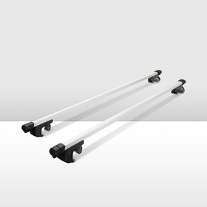 Universal Car Top Roof Rack Silver