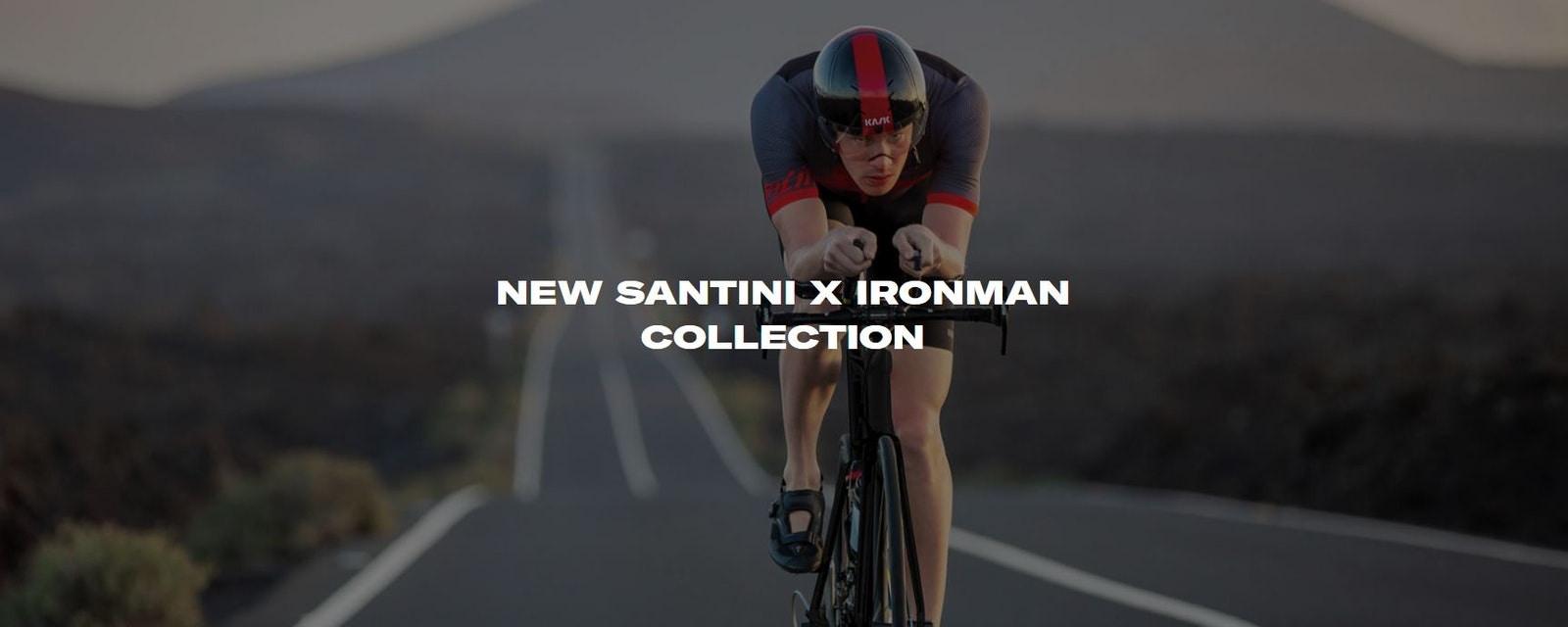 Santini - New Santini X IRONMAN Collection