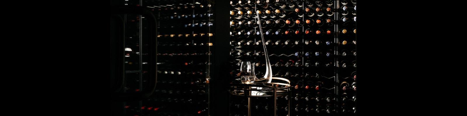 Maha Restaurant 200 bottle Wine cellar