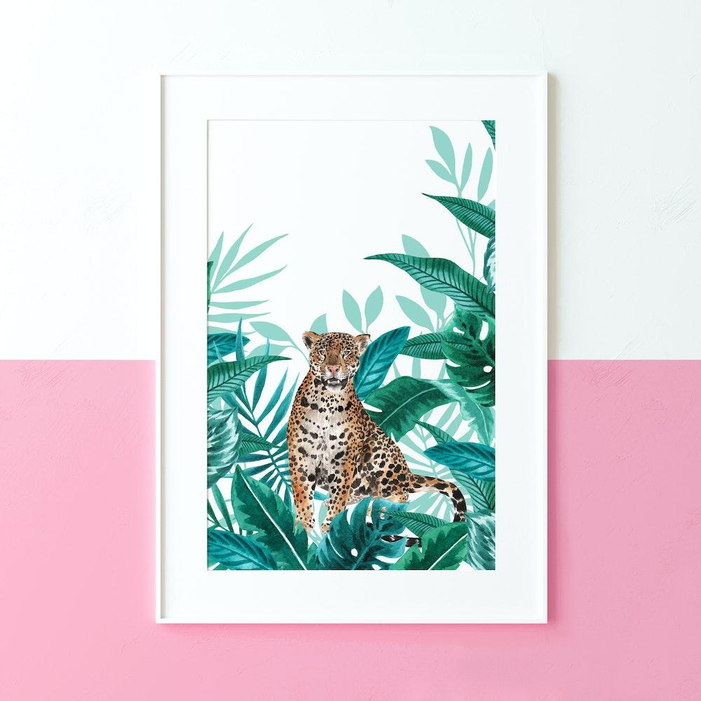 Laura Elizabeth Illustrations Jaguar Fine Art Print
