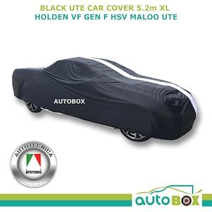 Black Indoor Show Car Cover Non-Scratch for Holden FB EK EJ EH HD HR HK HT Ute