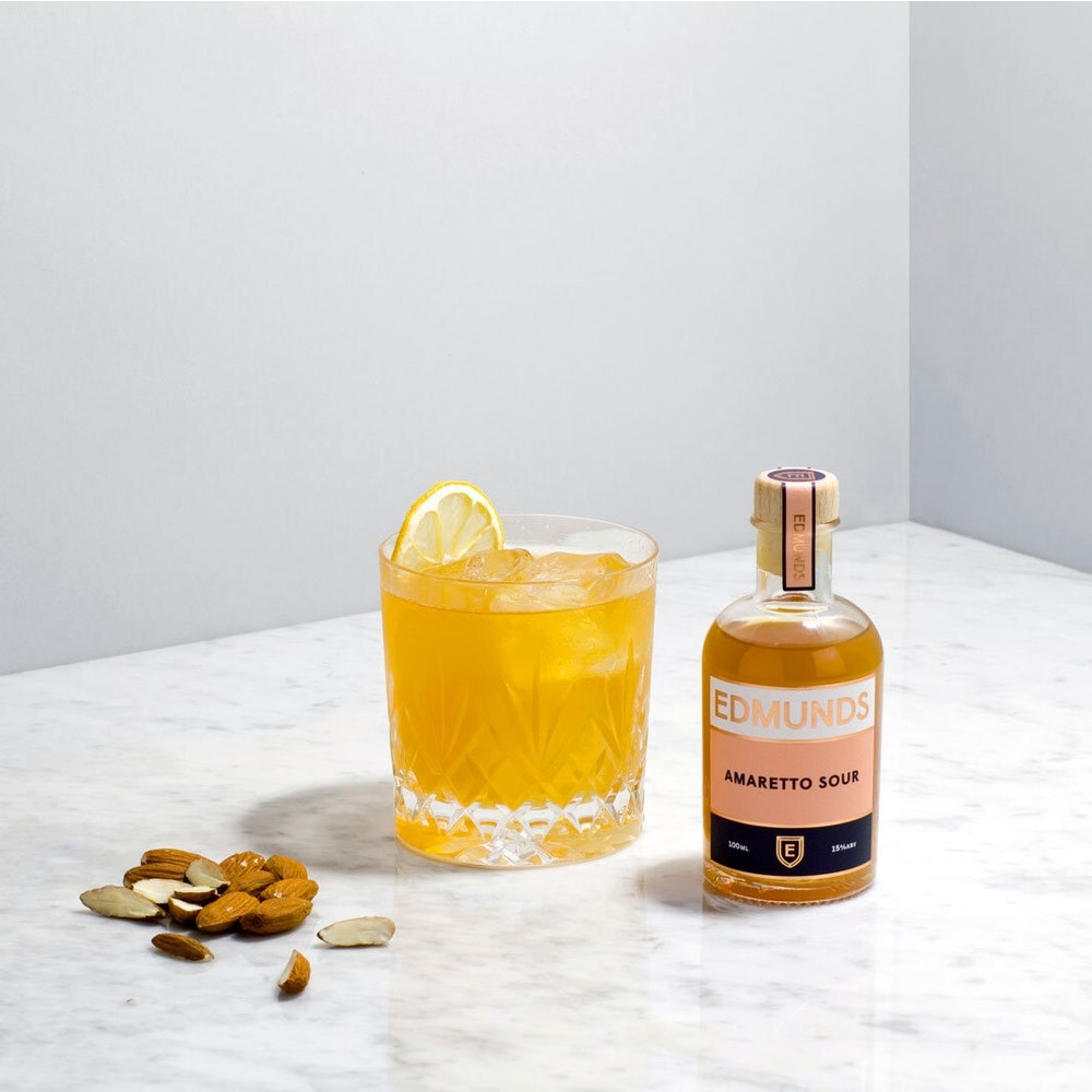 Edmunds Cocktails Amaretto Sour (box Of 6 Cocktails)